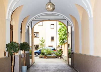 Entrance Hotel Brunnenhof